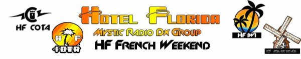 The 14 15 and 16 september start the Hotel Florida HF Week-End