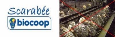 1ère victoire - Les 3 biocoops de Rennes retirent le foie-gras de leur étales