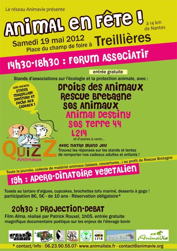 Journée de la cause animal à Treillières (44)