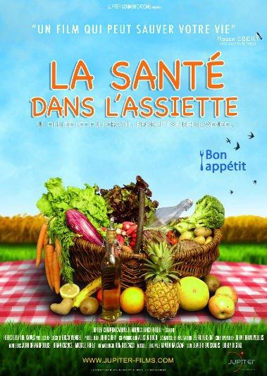 """Projection """"La santé dans l'assiette"""" à Etel (56)"""