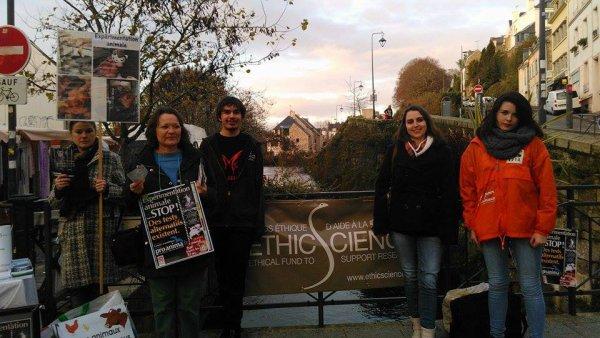Stand EthicScience, à Quimper (29)