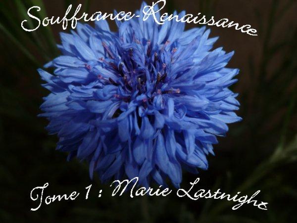 ***Souffrance-Renaissance Tome 1 : Marie Lastnight***