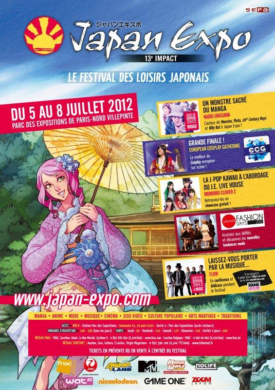 Le 4 Juillet direction Paris! Japan Expo 13e Impact!