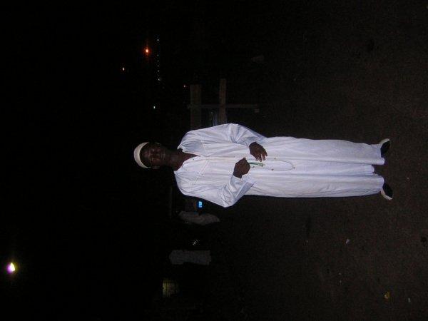 L'imam du secteur EL HADJ MAMADOU SANOGO