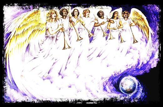 Les Sept Sonneries de trompettes des Anges