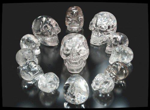 Les 13 crânes de Cristal - Prophétie Maya -