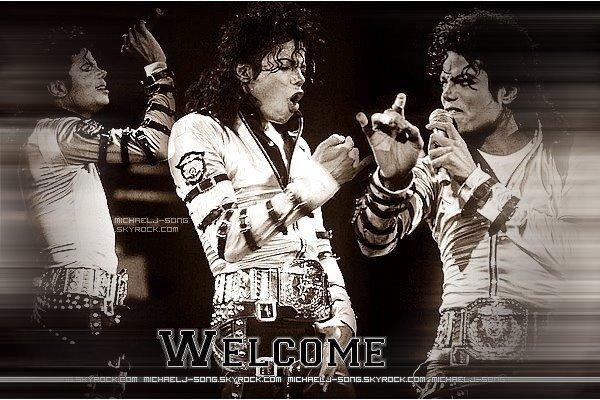 Bienvenue sur mon blog music consacré à Michael Jackson / King of PopAjoutes moi à tes favoris si mon blog te plait ♥ ; Visites mon autre blog : ☺