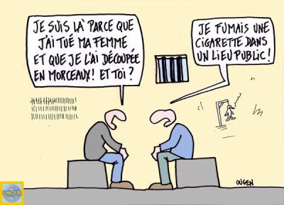 Le traitement de la toux au refus du fumer