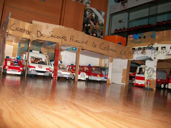 Hs caserne playmobil photos de v hicules du sdis 68 - Caserne pompier playmobil pas cher ...