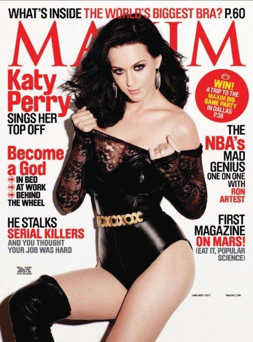 Katy Perry -  MAXIM magazine cover - Janvier 2011