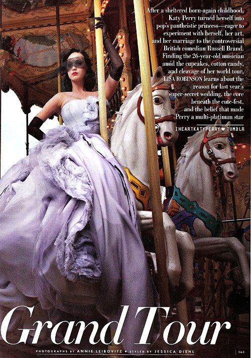 Katy Perry - Vanity Fair - Juin 2011