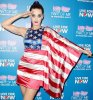 Katy Perry - shows her patriotic side in American