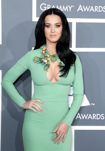 Katy Perry - 55TH ANNUAL GRAMMY AWARDS AT STAPLES CENTER IN LA