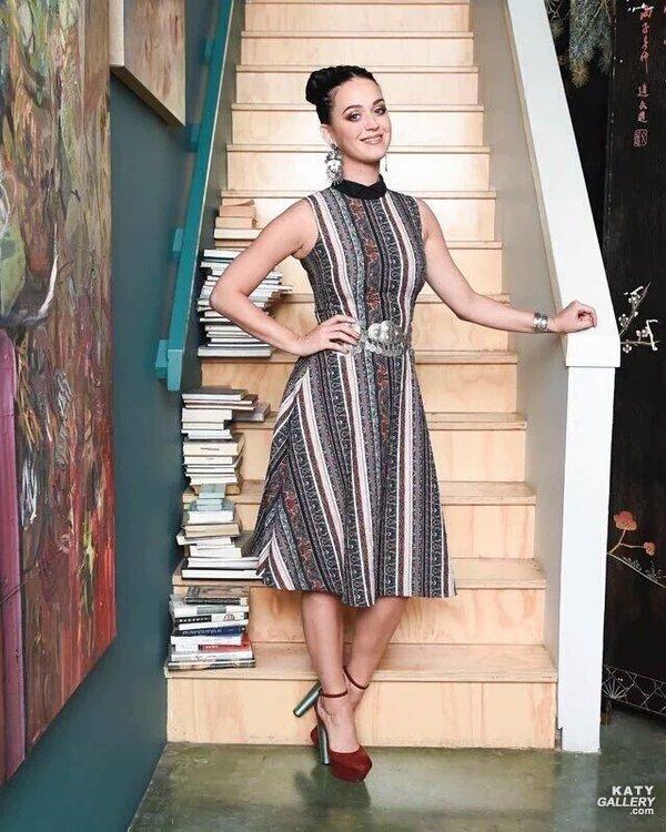 Katy Perry - Rodarte dinner