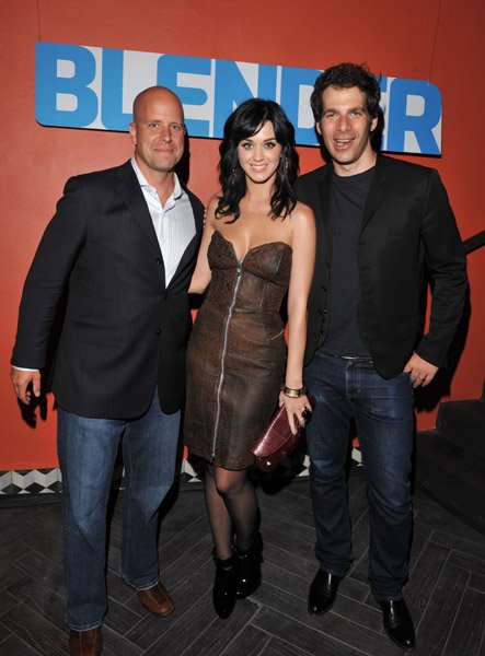 Katy Perry - BLENDER MAGAZINE TOASTS KATY PERRY