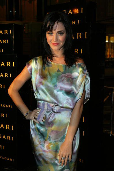 Katy Perry - BULGARI STORE OPENING PARTY ON GEORGES V AVENUE IN PARIS