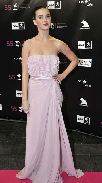 Katy Perry - 55TH ANNUAL ONDA AWARDS IN BARCELONA