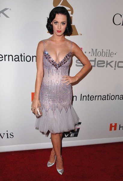 Katy Perry - CLIVE DAVIS PRE-GRAMMY PARTY