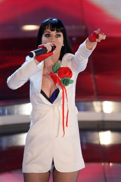Katy Perry - THE 59TH SAN REMO SONG FESTIVAL 2009