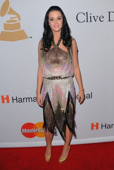 Katy Perry - CLIVE DAVIS PRE-GRAMMY PARTY IN BEVERLY HILLS