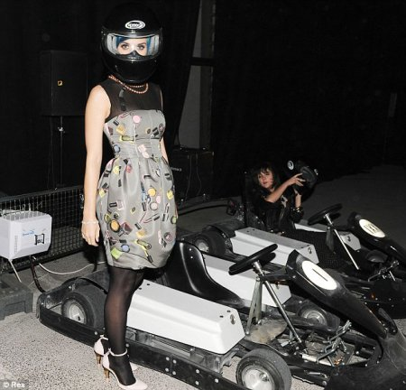 Katy Perry - PARIS FASHION WEEK KANYE'S FALL/WINTER: AFTER PARTY KART