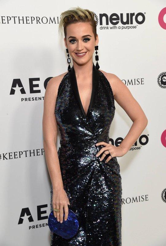 Katy Perry - ELTON JOHN 70TH BIRTHDAY PARTY