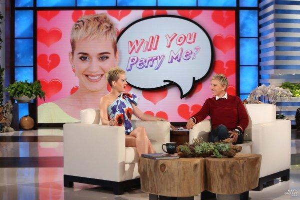 Katy Perry - THE ELLEN DEGENERES SHOW