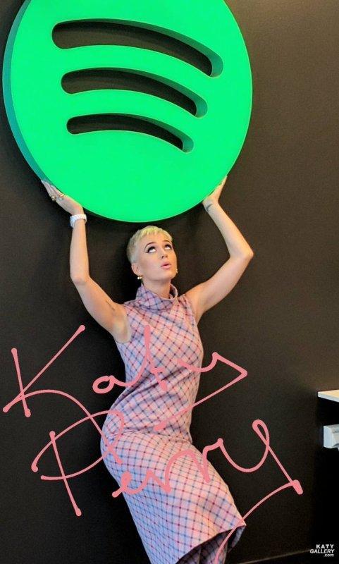 Katy Perry - SPOTIFY, STOCKHOLM