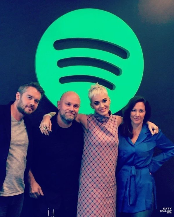 Katy Perry - SPOTIFY, STOCKHOLM