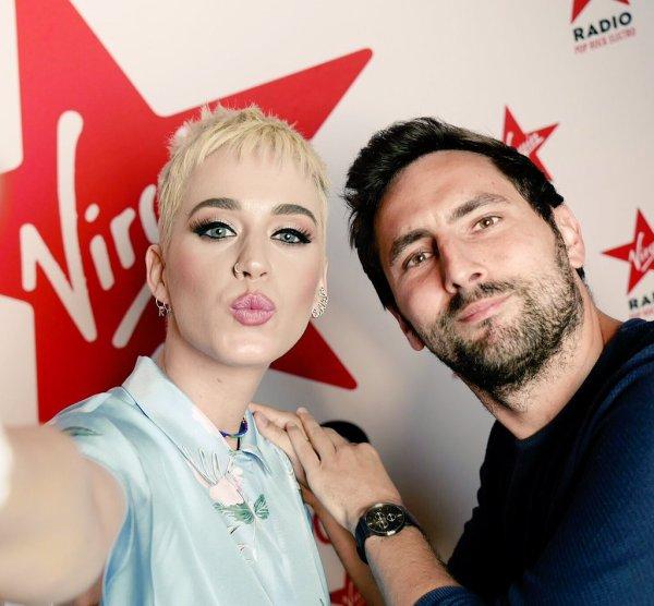 Katy Perry - VIRGIN RECORDS, PARIS
