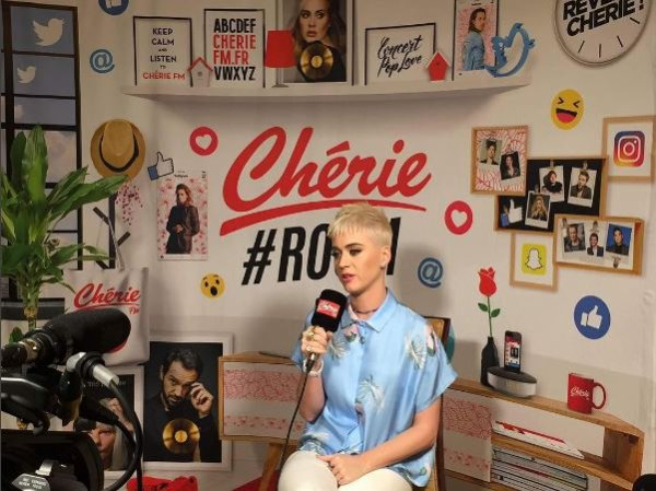 Katy Perry - VIRGIN RECORDS, PARIS
