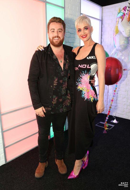 Katy Perry - KISS FM STUDIO'S IN LONDON