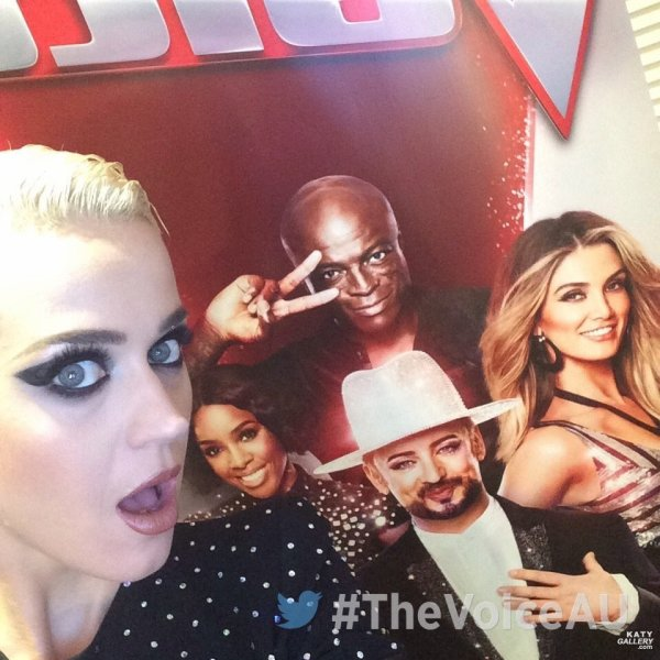 Katy Perry - THE VOICE AUSTRALIA