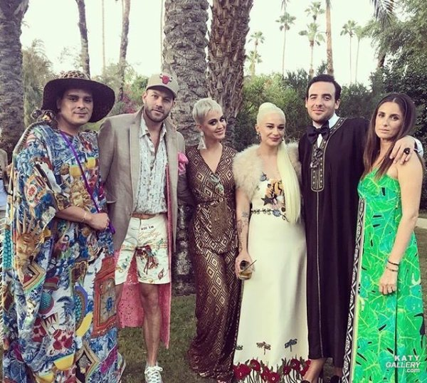 Katy Perry - SARAH HUDSON'S WEDDING 24/09/2017