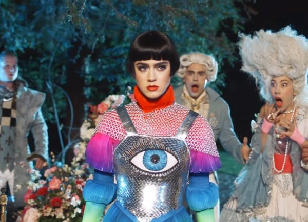 "Katy Perry - Clip ""Hey Hey Hey"""