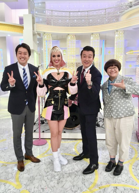 Katy Perry - Nippon Television - JAPON 29/03/2018