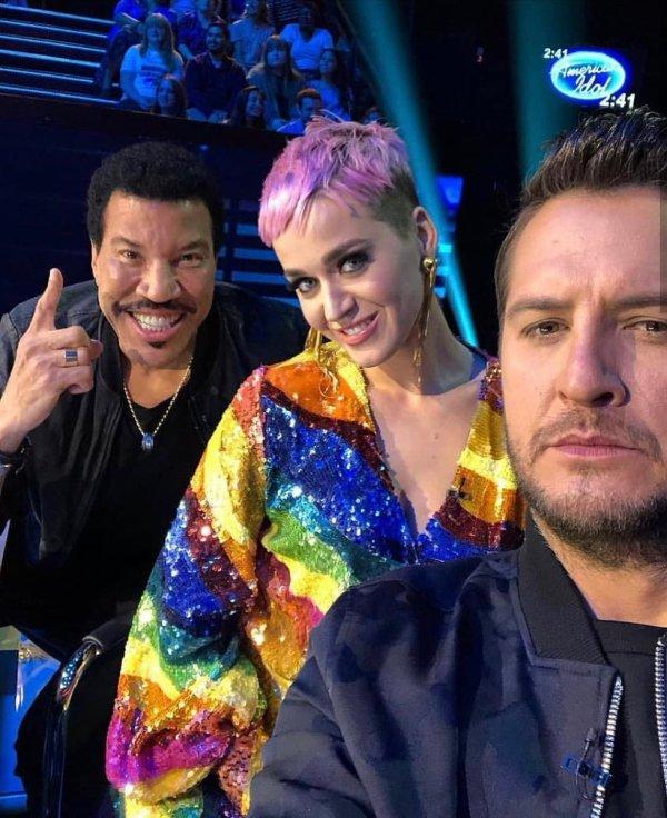 Katy Perry - AMERICAN IDOL - ABC  22/04/2018