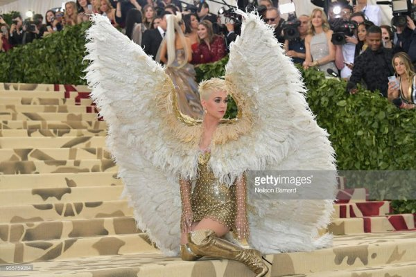 Katy Perry - Fashion & The Catholic Imagination Costume Institute Gala au Metropolitan Museum - 07/05/2018