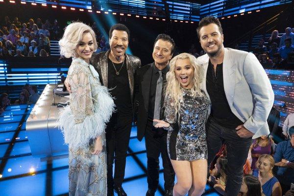 Katy Perry - American Idol - ABC 20/05/2018