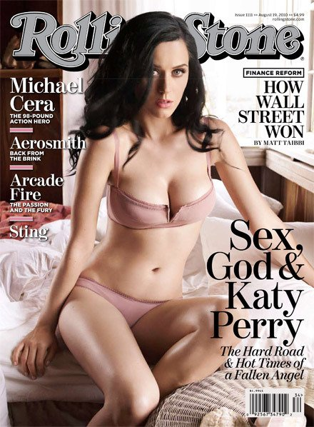 Katy Perry - The Rolling Stone magazine cover 08/2010