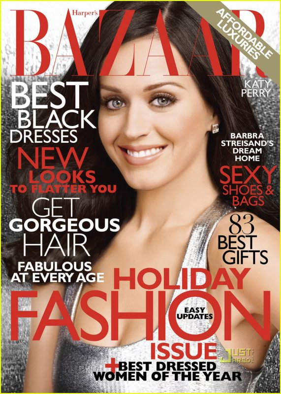 KATY PERRY - BAZAAR magazine cover 03/11/2010