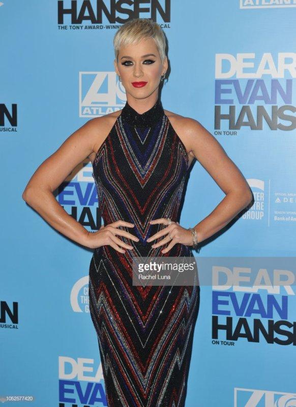Katy Perry -   'Dear Evan Hansen' Los Angeles 19/10/2018