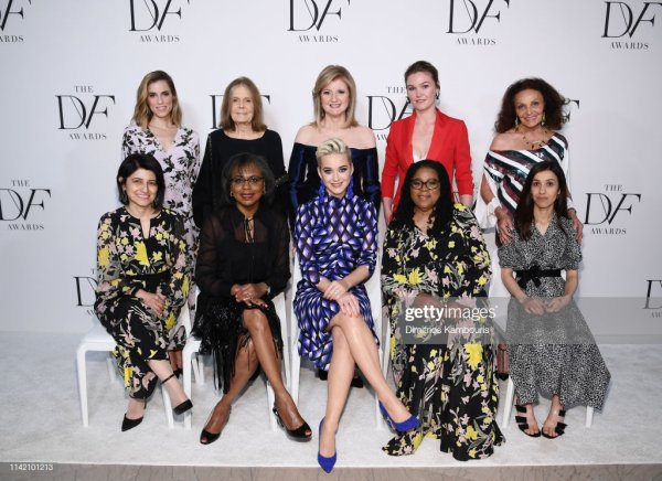 Katy Perry - 10th Annual DVF Awards - NEW YORK - 11/04/2019