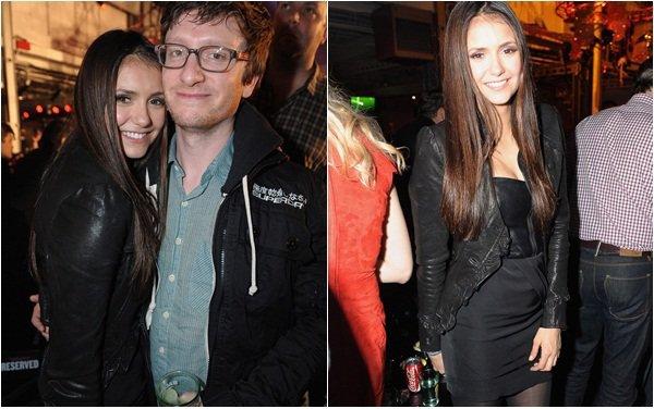 (110)04/02/2012● Nina c'est rendu après le Super Bowl au Bacardi Bash Party organisée par Rolling Stone  Elle a posée avec sa co-star Candice Accola ainsi que Nikki Reed