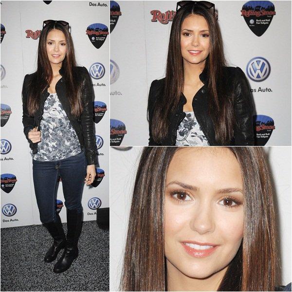 (111)05/02/2012● En ce 6 février Nina était Volkswagen Rock & Roll Supe organisée par Rolling Stone  En ce moment elle sort et tweet beaucoup et on aime ça !
