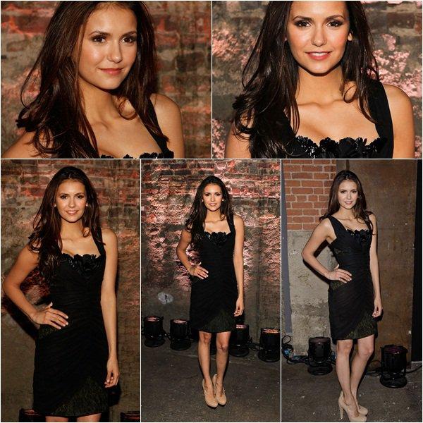 (119)11/02/2012● Nina à la fashion week à NY   Elle est belle dans ces 3 défilés pour ma part