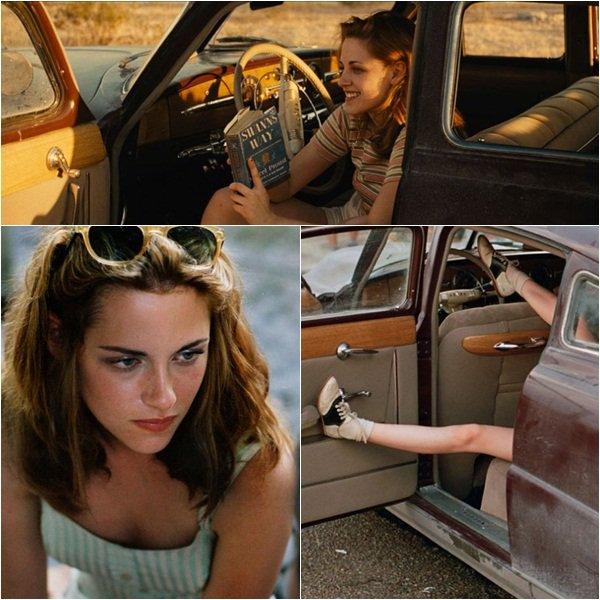 """(168)03/04/2012× Kristen en couverture de ELLE US en juin 2012 ! Remarquons l'énorme faute d'orthographe avec ce """"Kristin"""" au lieu de Kristen"""