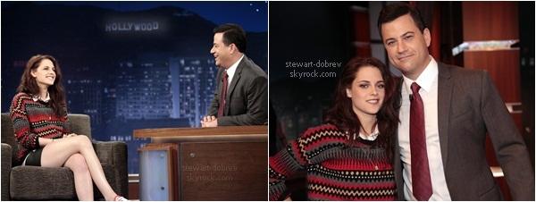 (204)07/05/2012× Comme prévu la diffusion du Jimmy Kimmel. Pas de photo mais une vidéo, pour le moment. Enregistrement Visionner la vidéo en cliquant sur l'image.