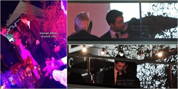 (227)23/05/2012• Robsten arrivant à l'after party d'On the road pendant l'after Robsten c'est montré très proche ! La 4ieme photo correspond à leur départ de l'after party. Regarder la vidéo sa vaut le détour ! Robsten is perfect