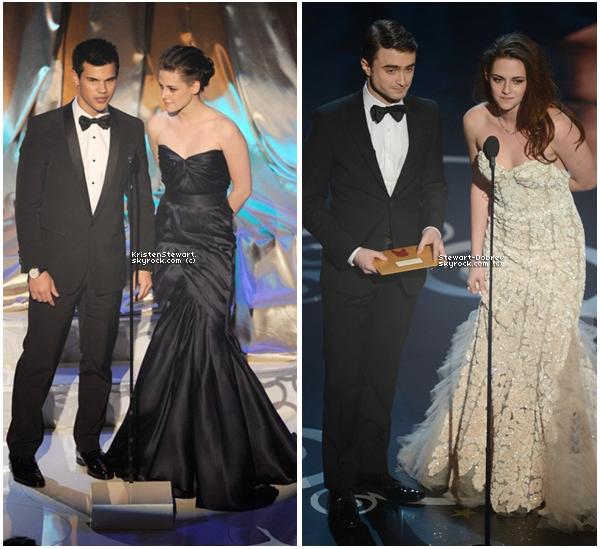 (418)01/03/2013Kristen nous a ébloui 2 fois aux Oscars mais plutôt 2010 ou 2013 ?